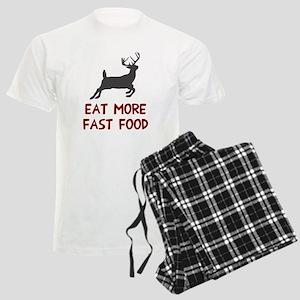 Eat more fast food Men's Light Pajamas