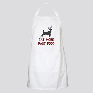 Eat more fast food Apron