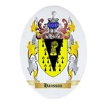 Hansson Ornament (Oval)
