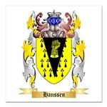 Hanssen Square Car Magnet 3