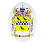 Hanson Ornament (Oval)