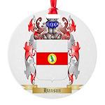 Hanson 3 Round Ornament