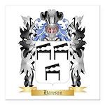 Hanson 2 Square Car Magnet 3