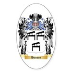 Hanson 2 Sticker (Oval 50 pk)