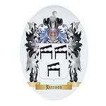 Hanson 2 Ornament (Oval)