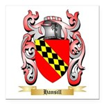 Hansill Square Car Magnet 3