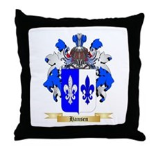 Hansen (Sweden) Throw Pillow