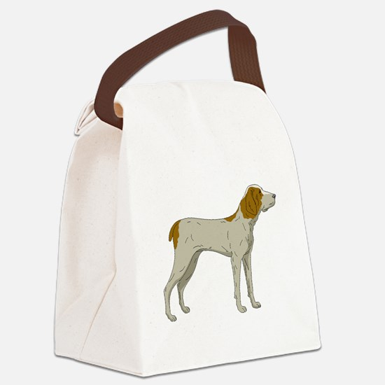 Brittany Canvas Lunch Bag