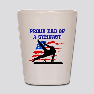 GYMNAST DAD Shot Glass