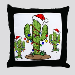 Funny Arizona Christmas  Throw Pillow
