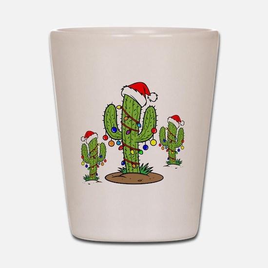 Funny Arizona Christmas  Shot Glass