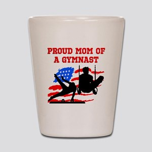 GYMNAST MOM Shot Glass