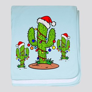 Funny Arizona Christmas baby blanket