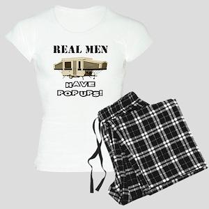 Real Men Pop Up Women's Light Pajamas