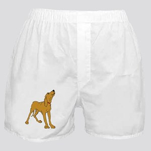 Redbone Coonhound Boxer Shorts