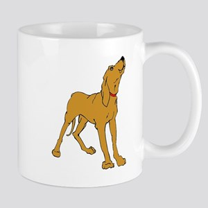 Redbone Coonhound Mugs