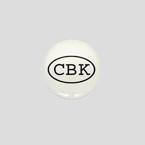 CBK Oval Mini Button