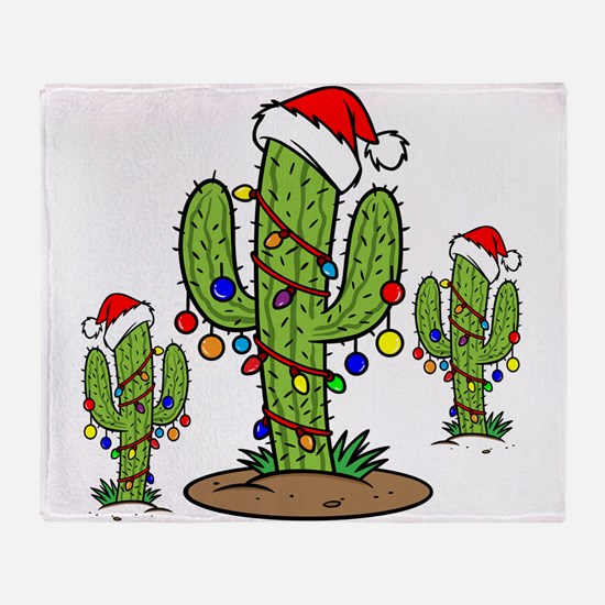 Funny Arizona Christmas Throw Blanket