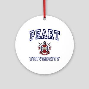 PEART University Ornament (Round)