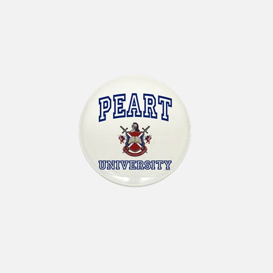 PEART University Mini Button