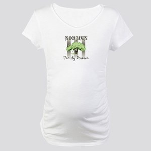 NORMAN family reunion (tree) Maternity T-Shirt