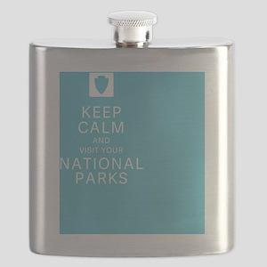NPF Keep Calm Flask