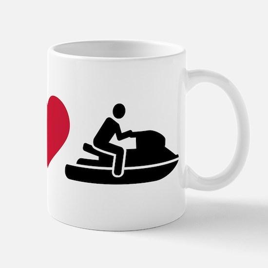 I love Jet ski racing Mug