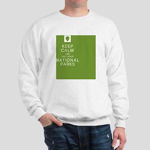 NPF Keep Calm green Sweatshirt