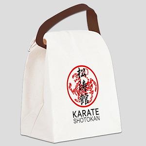 Shotokan Karate symbol and Kanji Canvas Lunch Bag