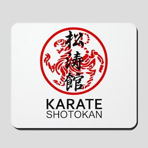 Shotokan Karate symbol and Kanji Mousepad