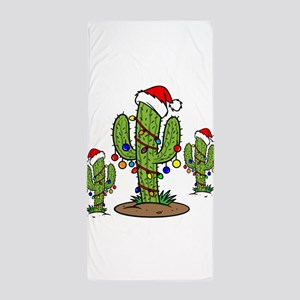 Funny Arizona Christmas Beach Towel