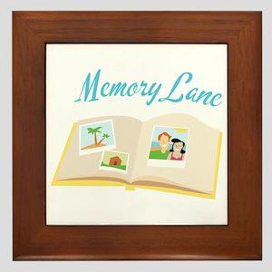 Memory Lane Framed Tile