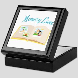 Memory Lane Keepsake Box