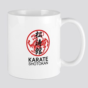Shotokan Karate symbol and Kanji Mugs