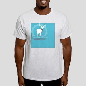 Peace.Love.Parks  Light T-Shirt