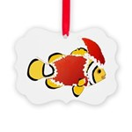 Christmas Clownfish Ornament