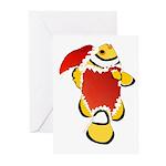 Christmas Clownfish Greeting Cards