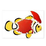 Christmas Clownfish Postcards (Package of 8)