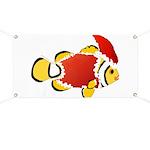 Christmas Clownfish Banner