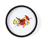 Christmas Clownfish Wall Clock