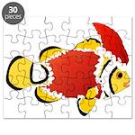 Christmas Clownfish Puzzle