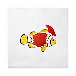 Christmas Clownfish Queen Duvet
