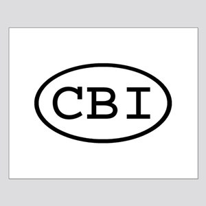 CBI Oval Small Poster