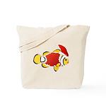 Christmas Clownfish Tote Bag