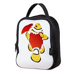 Christmas Clownfish Neoprene Lunch Bag