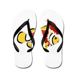 Christmas Clownfish Flip Flops
