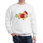 Christmas Clownfish Sweatshirt