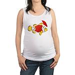Christmas Clownfish Maternity Tank Top