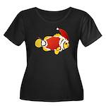 Christmas Clownfish Plus Size T-Shirt