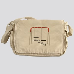 Swing Set Messenger Bag